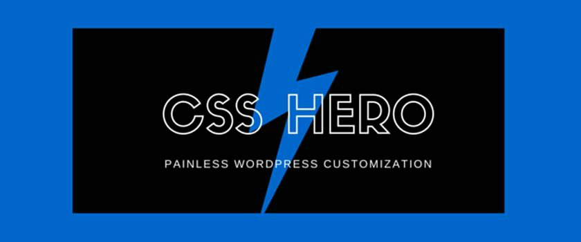 css hero plugin review