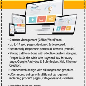 CARIBOO WordPress website Design Preferred Package