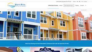 Vancouver White Rock BC Painting company web design