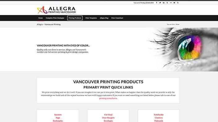 Vancouver Printing